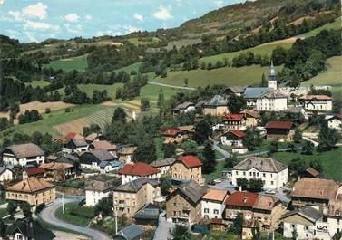 """/ CPSM FRANCE 74 """"Mieussy, vue aérienne, centre du village"""""""