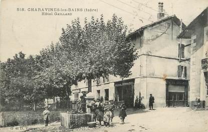 """/ CPA FRANCE 38 """"Charavines Les Bains, hôtel Gaillard"""""""