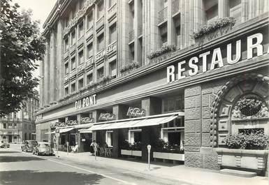 """CPSM SUISSE  """"Zurich, restaurant su Pont"""""""