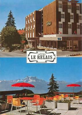 """CPSM  SUISSE  """"Leysin, Hotel Le Relais"""""""