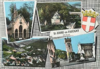 """/ CPSM FRANCE 74 """" Saint Jeoire en Faucigny"""""""