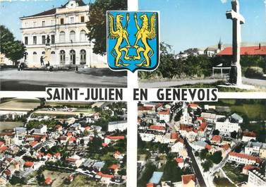 """/ CPSM FRANCE 74 """"Saint Julien en Genevois"""" / USAGE TARDIF"""