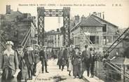 """60 Oise CPA FRANCE 60 """"Creil, le nouveau pont de fer """""""