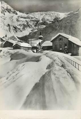 """/ CPSM FRANCE 74 """"Le village du Tour et son glacier"""""""