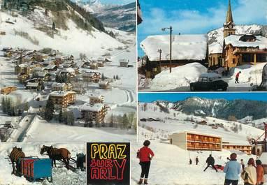 "/ CPSM FRANCE 74 ""Praz sur Arly"""