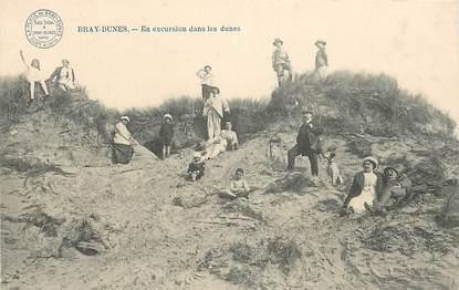 """CPA FRANCE 59 """"Bray Dunes, en excursion dans les dunes"""""""