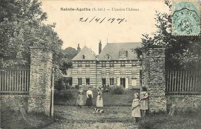 """CPA FRANCE 76 """"Sainte Agathe, L'Ancien Château"""""""