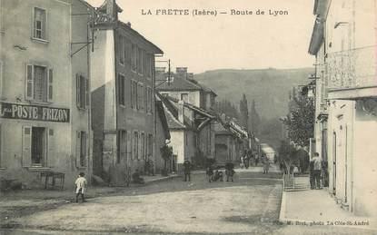"""/ CPA FRANCE 38 """"La Frette, route de Lyon"""""""