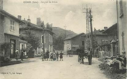 """/ CPA FRANCE 38 """"Le Pied de Gières """""""