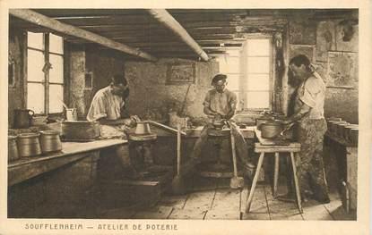 "CPA FRANCE 67 ""Soufflenheim, atelier de poterie"""