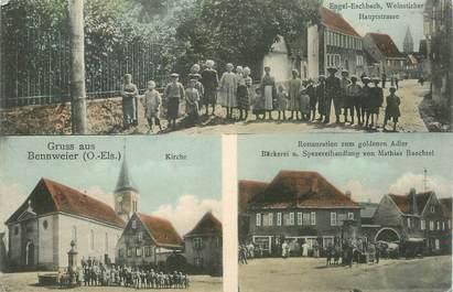 """CPA FRANCE 68 """"Gruss aus Bennweier"""""""