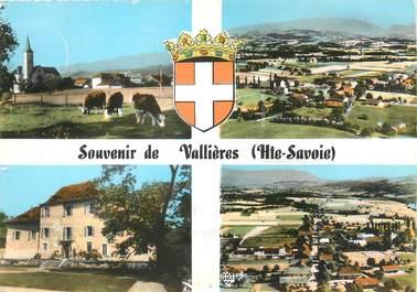 "/ CPSM FRANCE 74 ""Vallières"" / USAGE TARDIF"