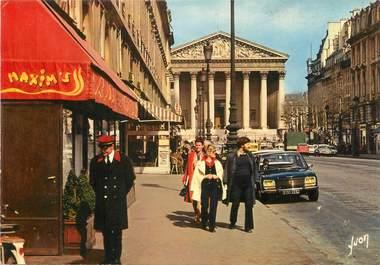 """/ CPSM FRANCE 75002 """"Paris, la rue Royale et la Madeleine"""""""