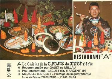 """/ CPSM FRANCE 75005 """"Paris, restaurant A"""""""