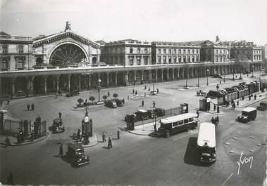 """/ CPSM FRANCE 75009 """"Paris, la gare de l'Est"""""""