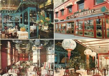 """/ CPSM FRANCE 75010 """"Paris, restaurant le Palais de l'Est"""""""