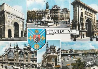 """/ CPSM FRANCE 75010 """"Paris Xème"""""""