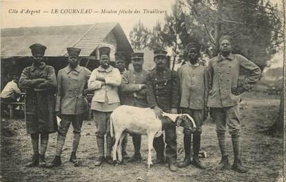 """CPA FRANCE 33 """"Le Courneau, mouton fétiche des tirailleurs sénégalais"""""""