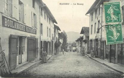 """/ CPA FRANCE 38 """"Massieu, le bourg"""""""