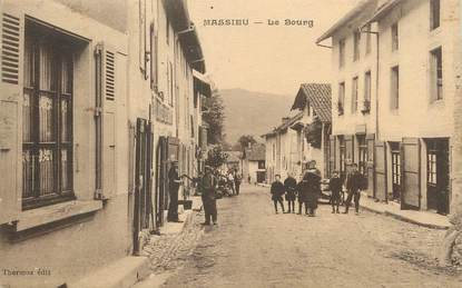 """/ CPA FRANCE 38 """"Massieu, le Bourg """""""