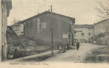 """/ CPA FRANCE 38 """"Moidieu, intérieur du village"""""""