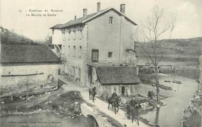 "/ CPA FRANCE 38 ""Environs de Morestel, le moulin de Roche """