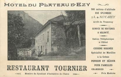 """/ CPA FRANCE 38 """"Noyaret, hôtel du plateau d'Ezy"""" / DOS NON CP"""