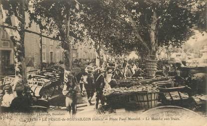 """/ CPA FRANCE 38 """"Le Péage du Roussillon, place Paul Morand"""""""