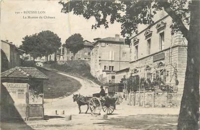 """/ CPA FRANCE 38 """"Roussillon, la montée du château"""""""