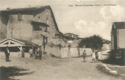 "/ CPA FRANCE 38 ""Revel Tourdan, les Terreaux"""