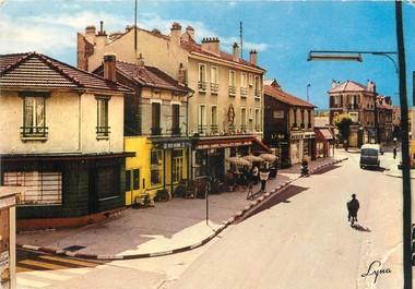 """/ CPSM FRANCE 78 """"Houilles, av JJ Rousseau"""""""