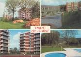 """78 Yveline / CPSM FRANCE 78 """"Jouy en Josas, Parc de Diane"""""""