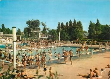 """/ CPSM FRANCE 78 """"Mantes La Jolie, la piscine"""""""