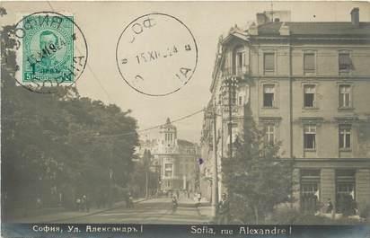 """CPA BULGARIE """"Sofia, Rue Alexandre I"""""""