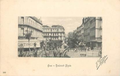 "CPA ALGERIE / Ed. GEISER ""Oran, bld Séguin"""