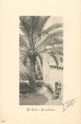 "CPA ALGERIE / Ed. GEISER ""Bou Saada, une habitation"""