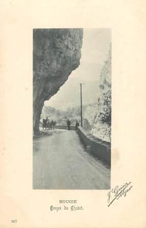 "CPA ALGERIE / Ed. GEISER ""Bougie, gorges du Chabet """