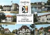 """78 Yveline / CPSM FRANCE 78 """"Rambouillet, château du vieux moulin"""""""