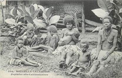 """CPA NOUVELLE CALEDONIE """"Types humains"""""""