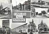 "78 Yveline / CPSM FRANCE 78 ""Conflans Sainte Honorine, divers aspects de la ville"""