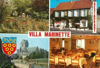 """/ CPSM FRANCE 78 """"Gazeran, hôtel restaurant villa Marinette"""""""