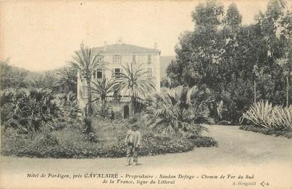 """CPA FRANCE 83 """"Hotel de Pardigon près Cavalaire"""""""