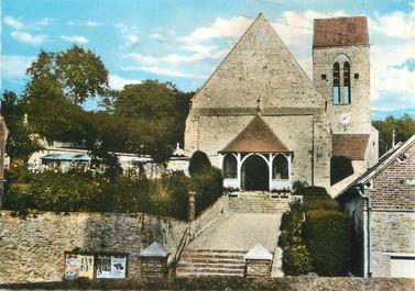 """/ CPSM FRANCE 78 """"Saint Léger en Yvelines, l'église"""""""