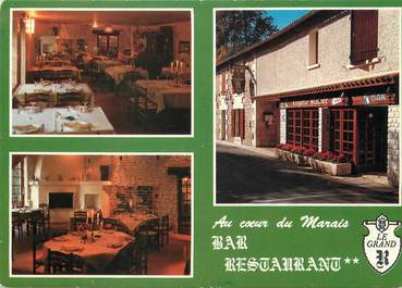 "/ CPSM FRANCE 79 ""Frontenay Rohan Rohan, restaurant au coeur du Marais"""