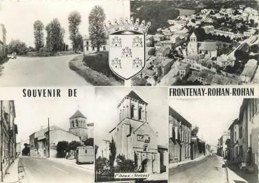 "/ CPSM FRANCE 79 ""Souvenir de Frontenay Rohan Rohan """