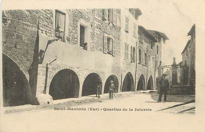 "CPA FRANCE 83 ""Saint Maximin, quartier de la Juiverie"" / JUDAICA"