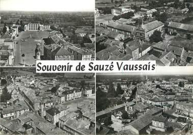 """/ CPSM FRANCE 79 """"Souvenir de Sauze Vaussais"""""""