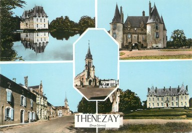 """/ CPSM FRANCE 79 """"Thenezay"""""""