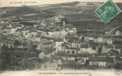 """.CPA FRANCE 48 """"Le Bleymard, Vue générale prise du Sénas"""""""