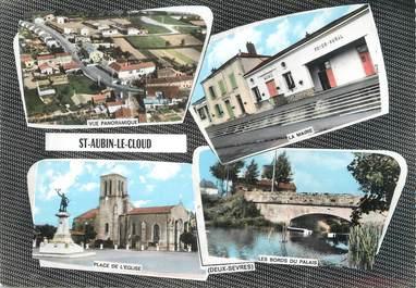 """/ CPSM FRANCE 79 """"Saint Aubin Le Cloud"""""""